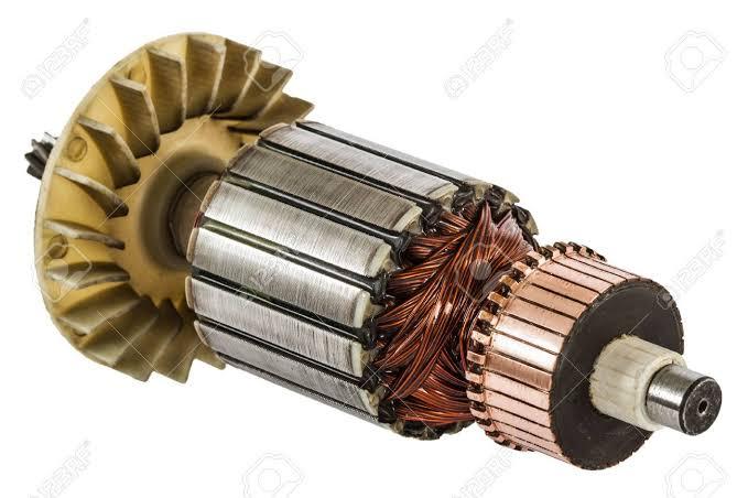 rotores de un motor electrico