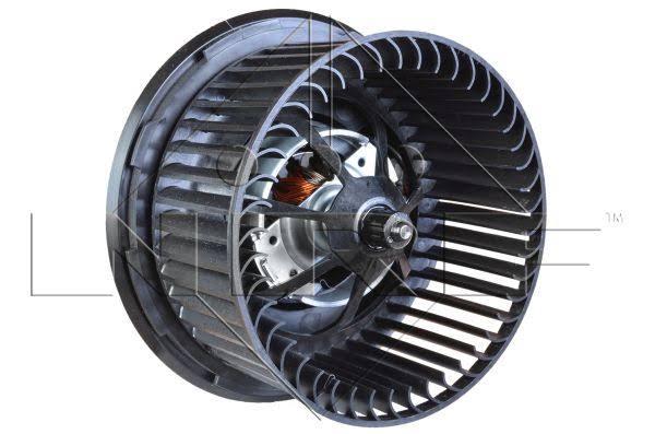 ventilador de un motor electrico
